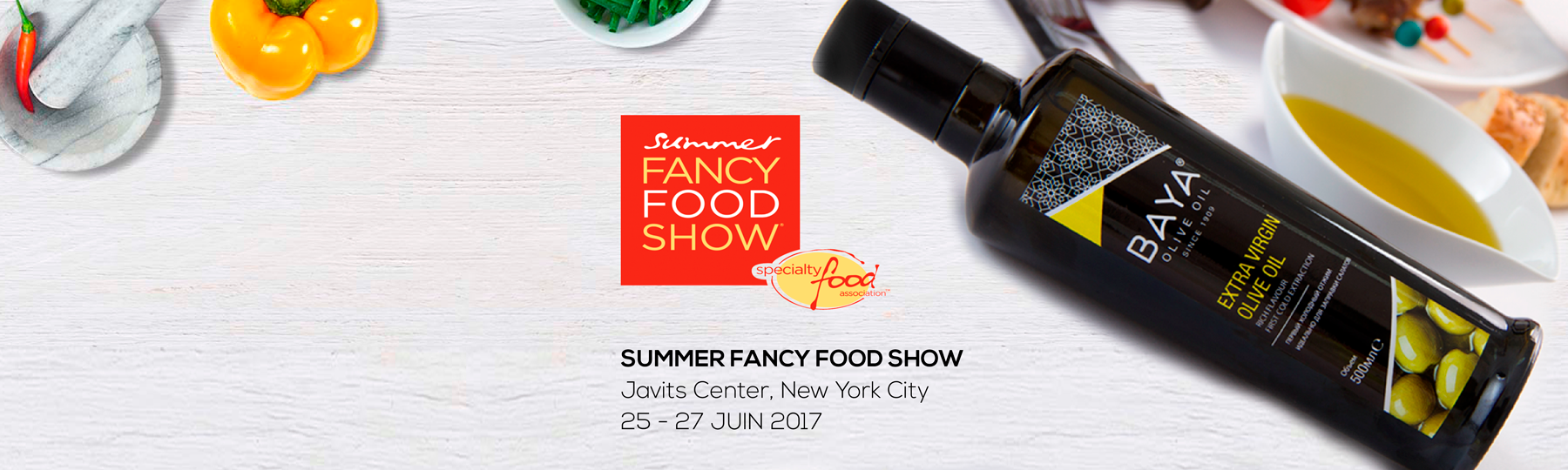 <br> FANCY FOOD SHOW